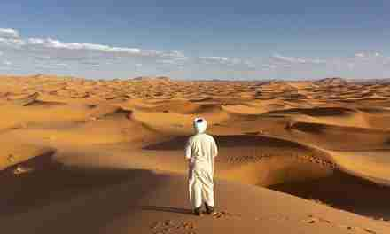 El desierto siempre se ve limpio