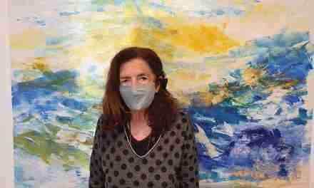 """Marta Balañá: """"No saber què he de pintar quan tinc la tela blanca davant, em dona més camp per obrir-me i investigar, per deixar-me anar pel moment"""""""