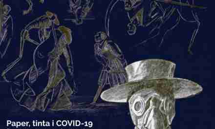 Paper, tinta i Covid-19