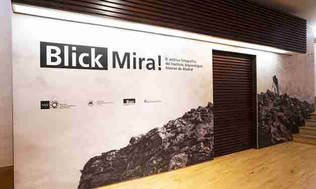 """El Museo Arqueológico Regional de la Comunitat de Madrid acull l'exposició """"Blick/Mira! L'arxiu fotogràfic de l'Institut Arqueològic Alemany de Madrid"""""""