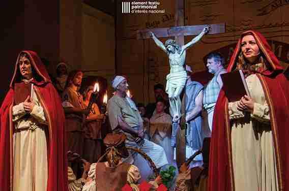 El Ball Parlat del Sant Crist de Salomó s'ajusta a la COVID-19 i programa una funció especial pel 2 de maig