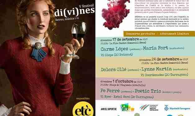 El festival Di(vi)nes arriba avui a la seva cinquena edició amb dos concerts a Reus i un a Altafulla